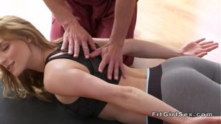 Sexy Yoga Class End With Extreme Sex
